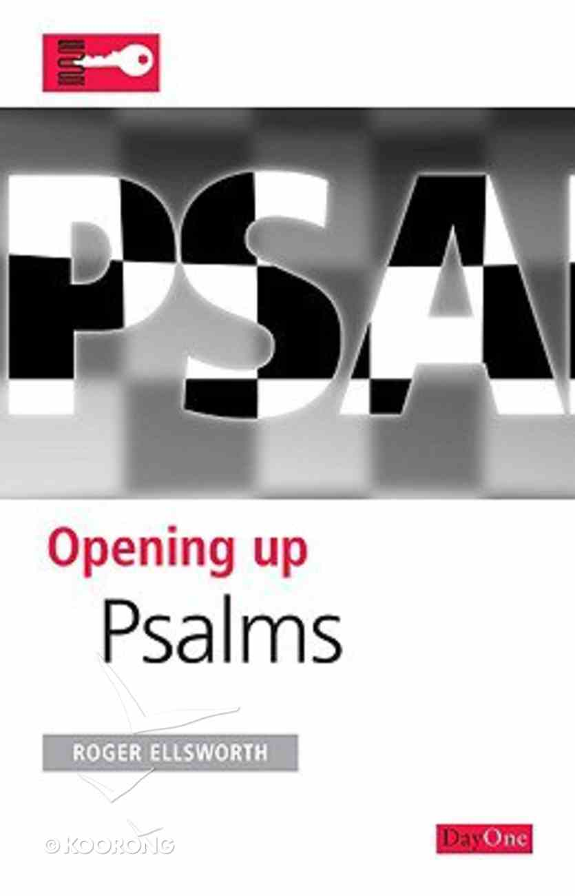 Psalms (Opening Up Series) Paperback