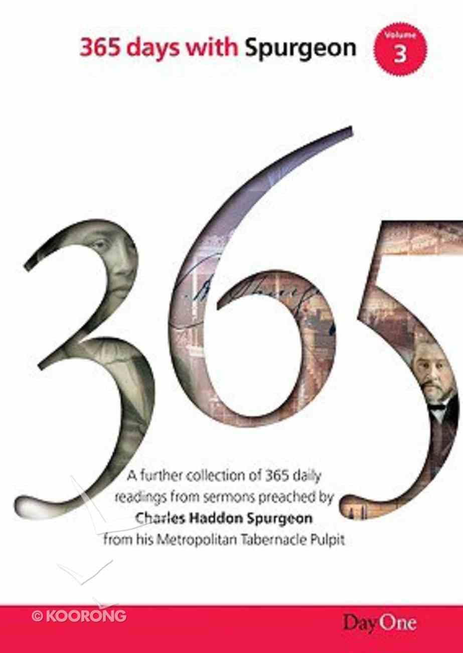 365 Days With Spurgeon (Vol 3) Hardback