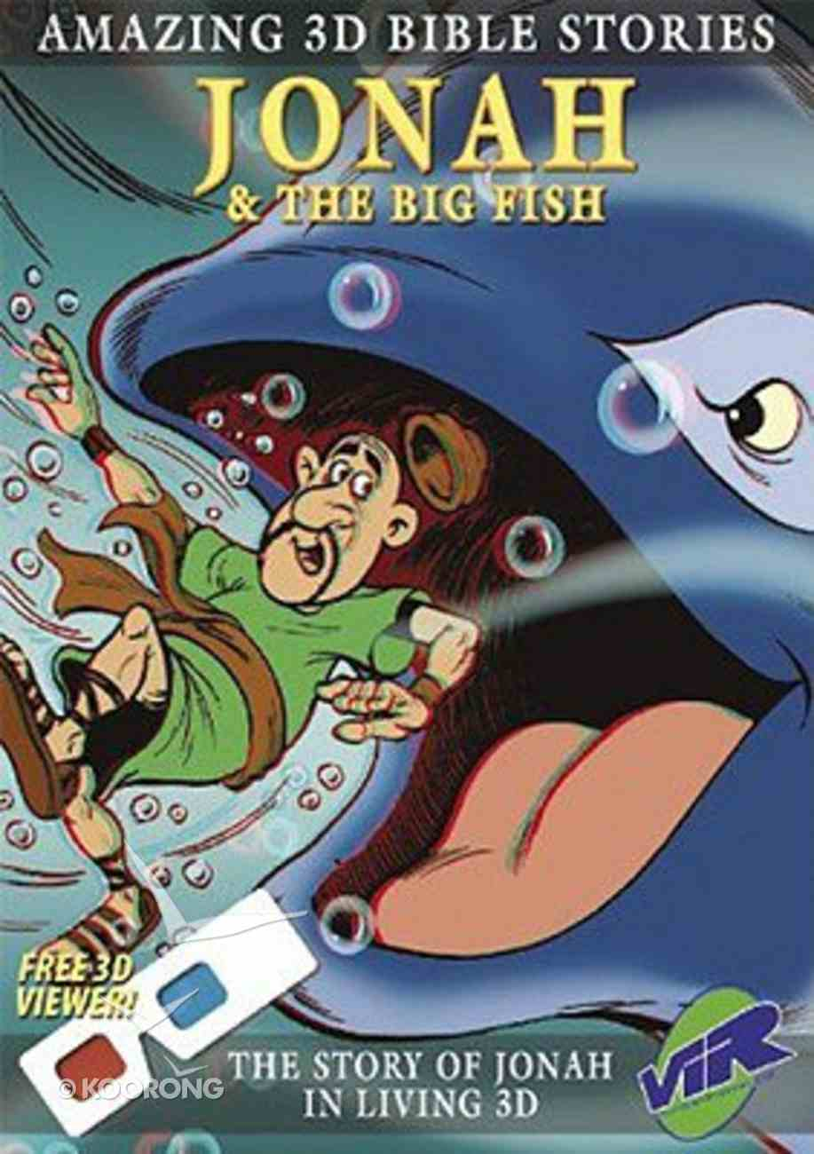 Jonah & the Big Fish (Amazing 3d Bible Stories Series) Paperback