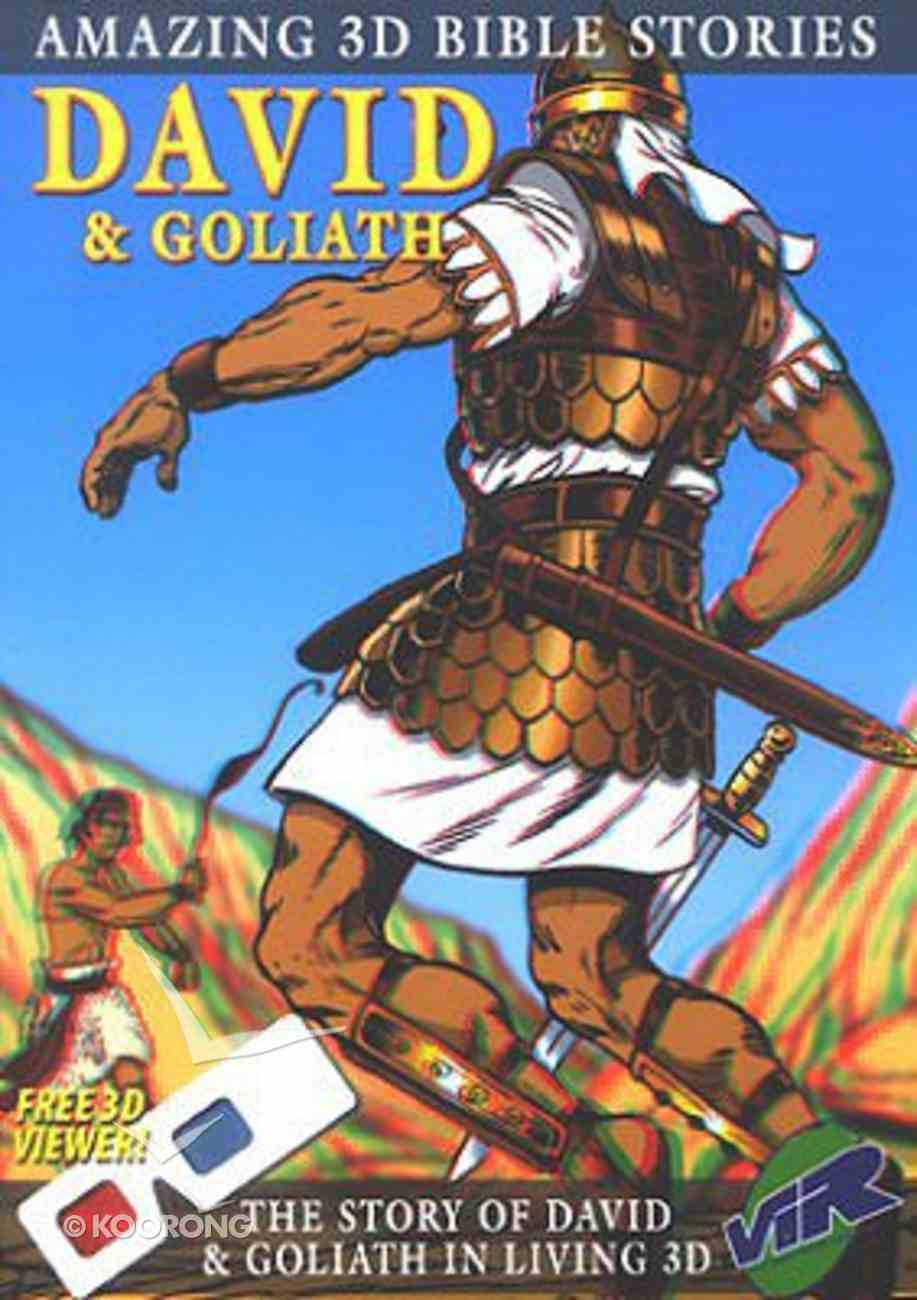 David & Goliath (Amazing 3d Bible Stories Series) Paperback