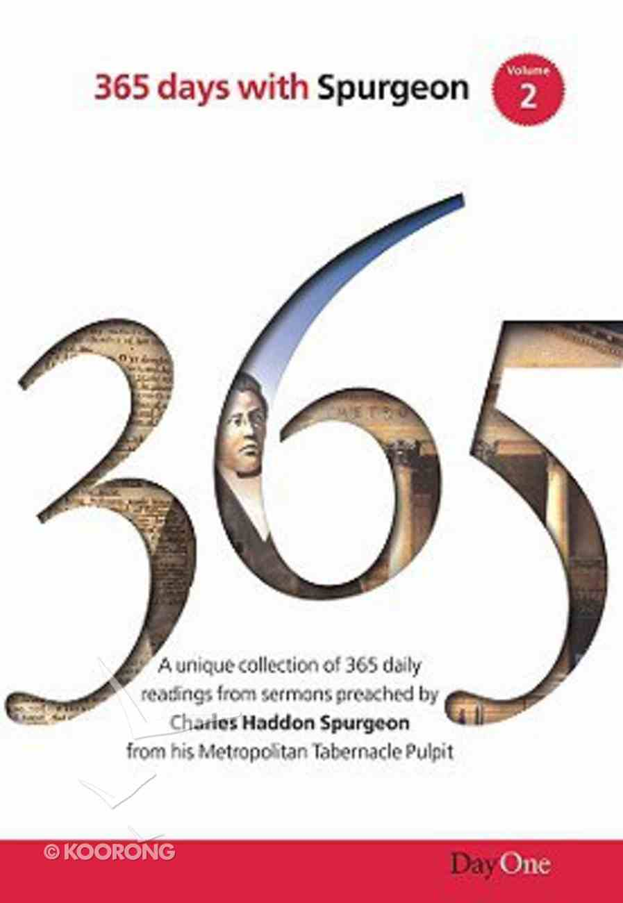 365 Days With Spurgeon (Vol 2) Hardback