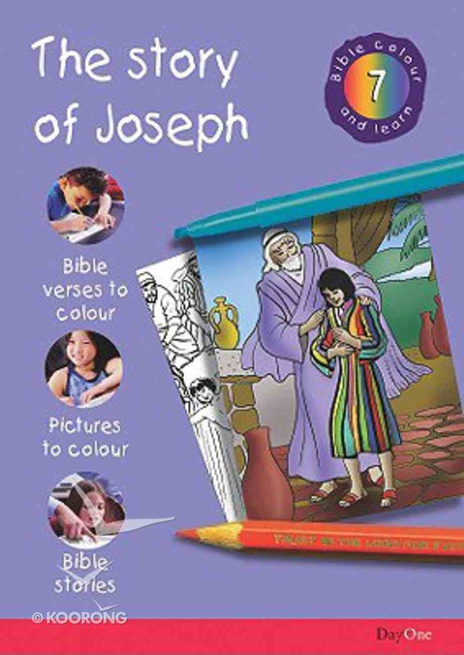 The Story of Joseph (#08 in Bible Colour And Learn Series) Paperback