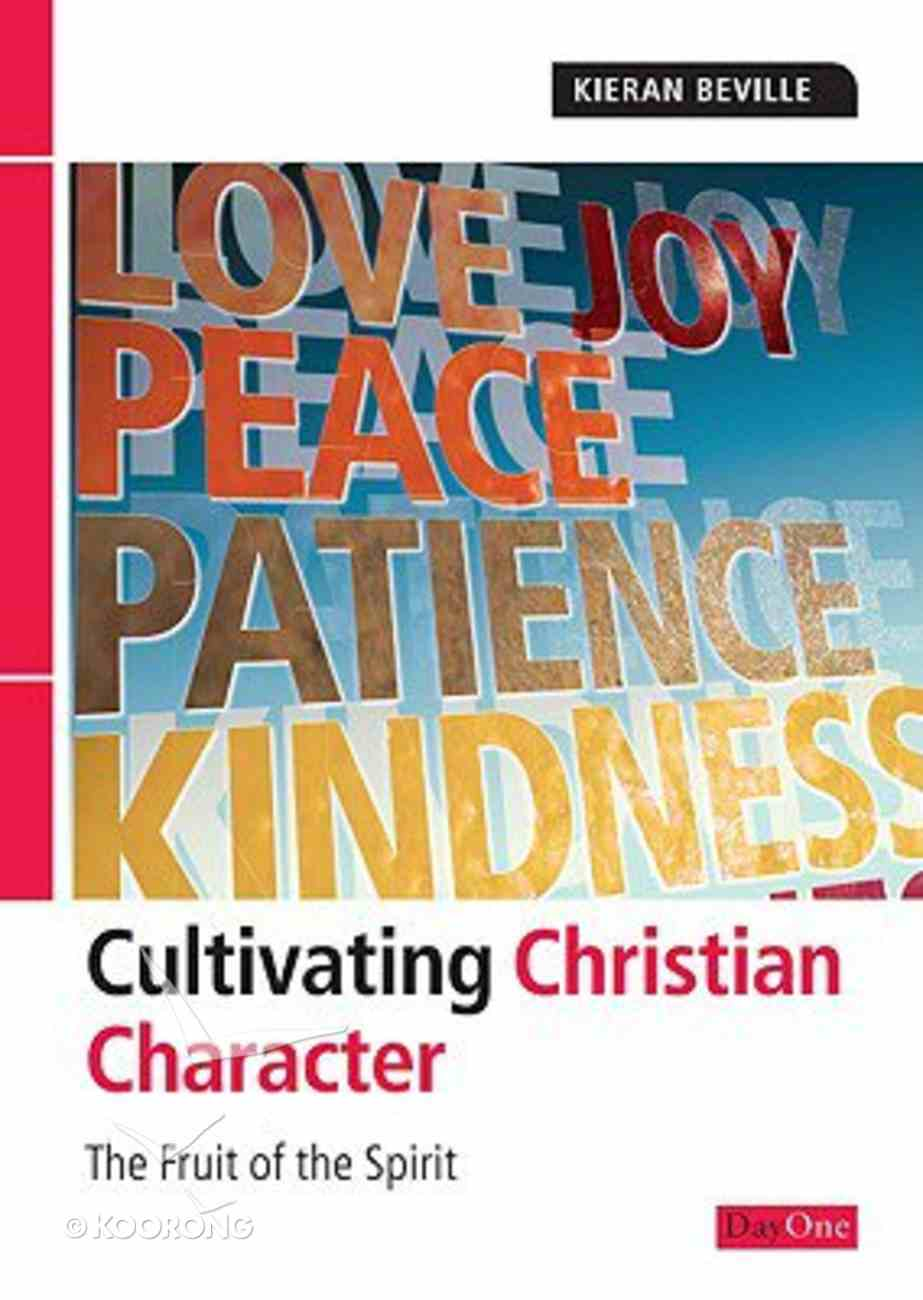 Cultivating Christian Character Paperback