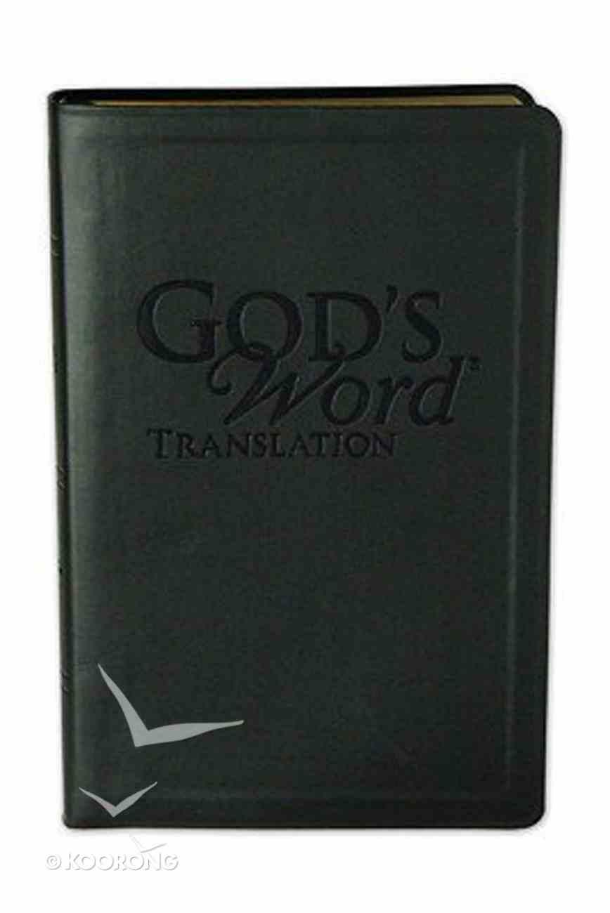 God's Word Handi-Size Onyx Imitation Leather