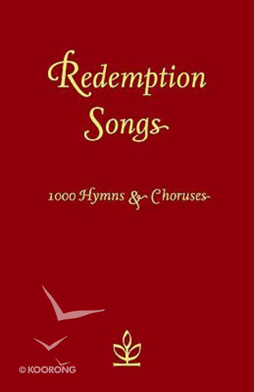 Redemption Songs Paperback