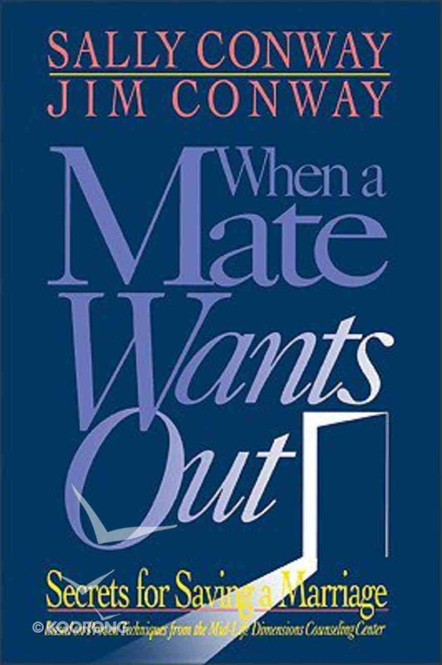 When a Mate Wants Out Paperback