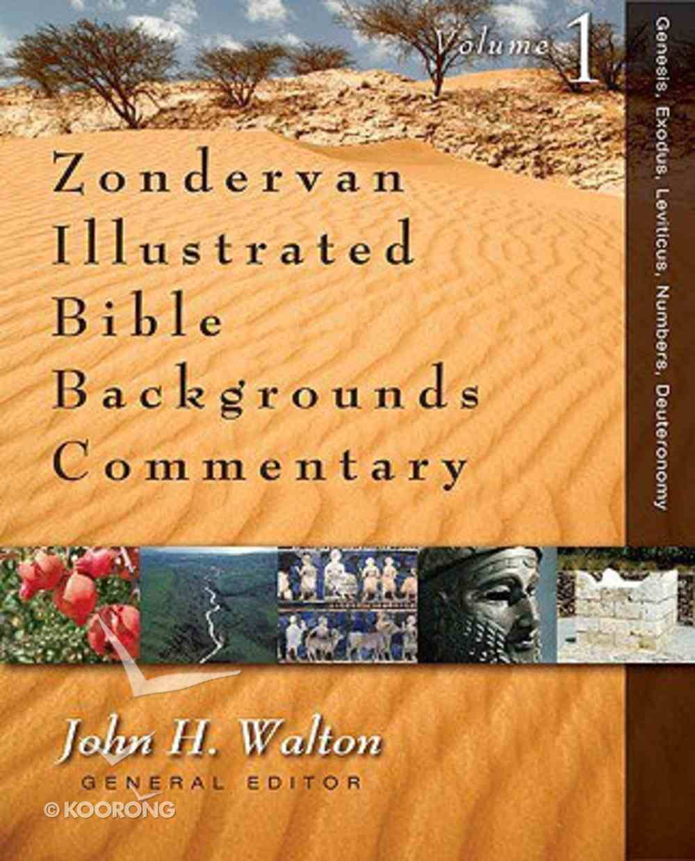 Zondervan Illustrated Bible Backgrounds OT Commentary Set (5 Vols) (Zondervan Illustrated Bible Backgrounds Commentary Series) Hardback