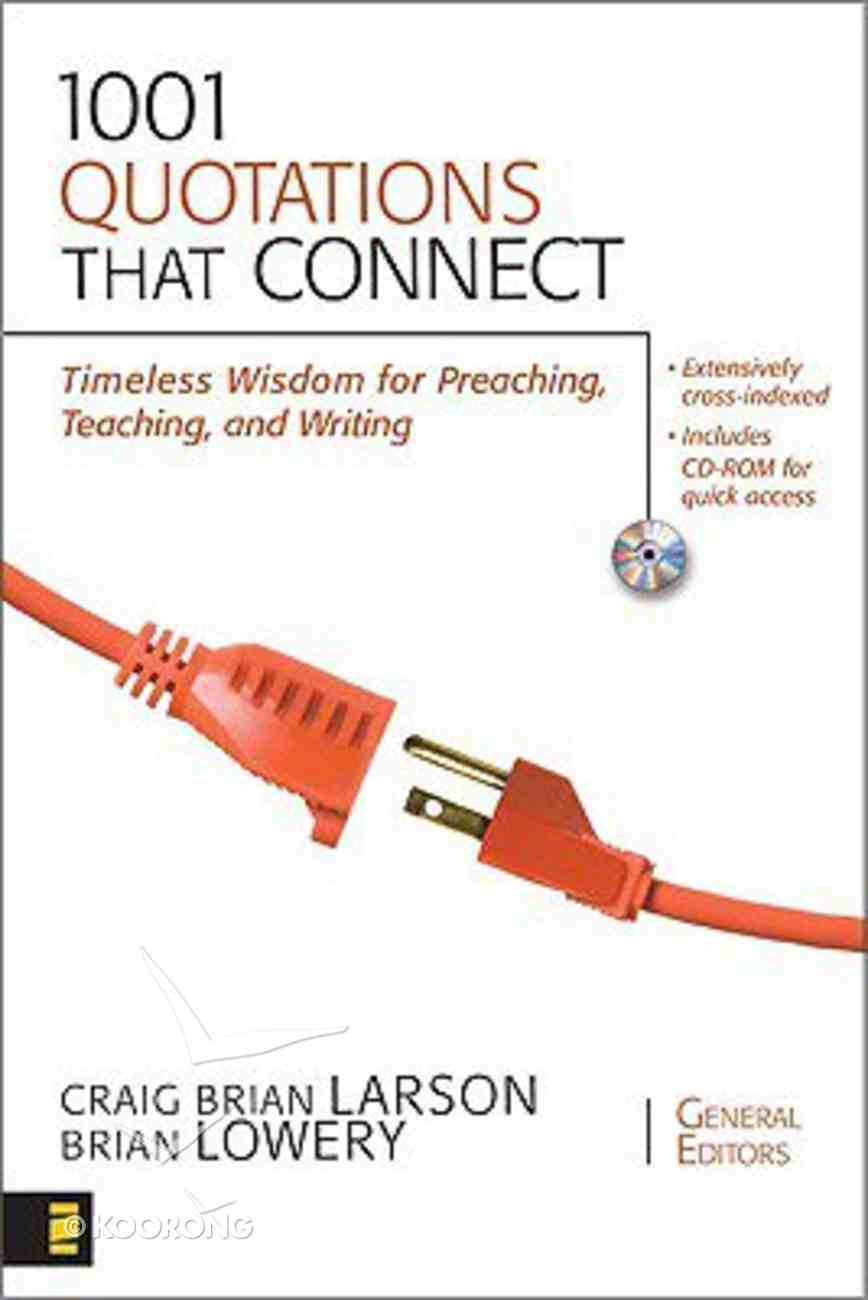 1001 Quotations That Connect (Incl Cd-rom) Paperback