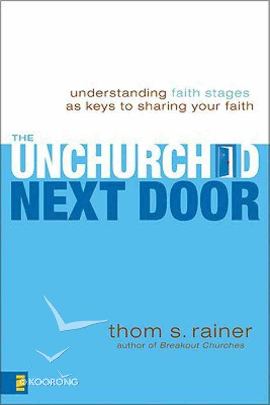 The Unchurched Next Door Paperback
