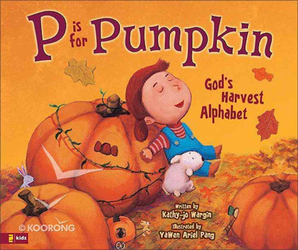 P is For Pumpkin Hardback