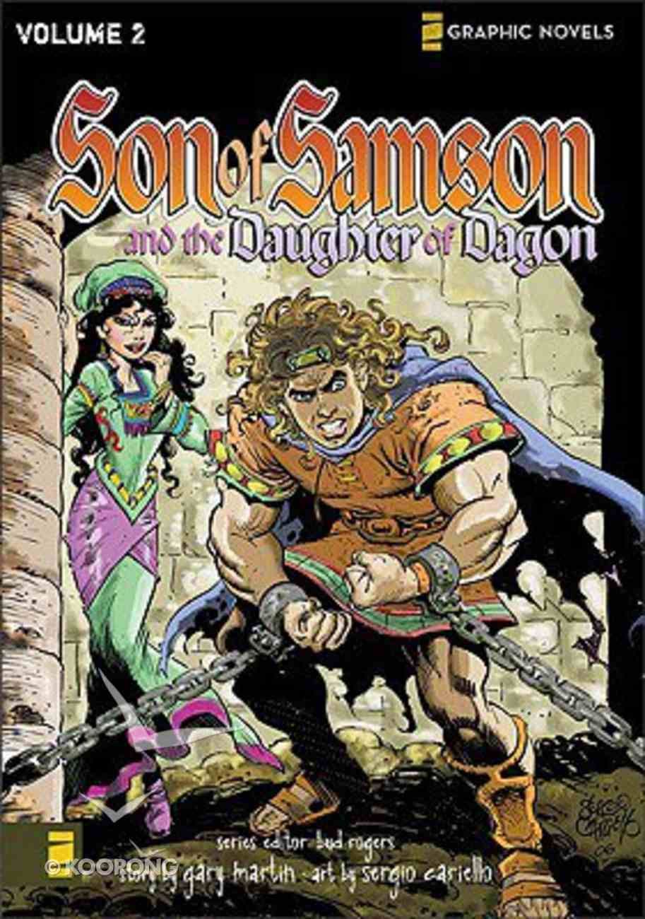 The Daughter of Dagon (Z Graphic Novel) (#02 in Son Of Samson Series) Paperback
