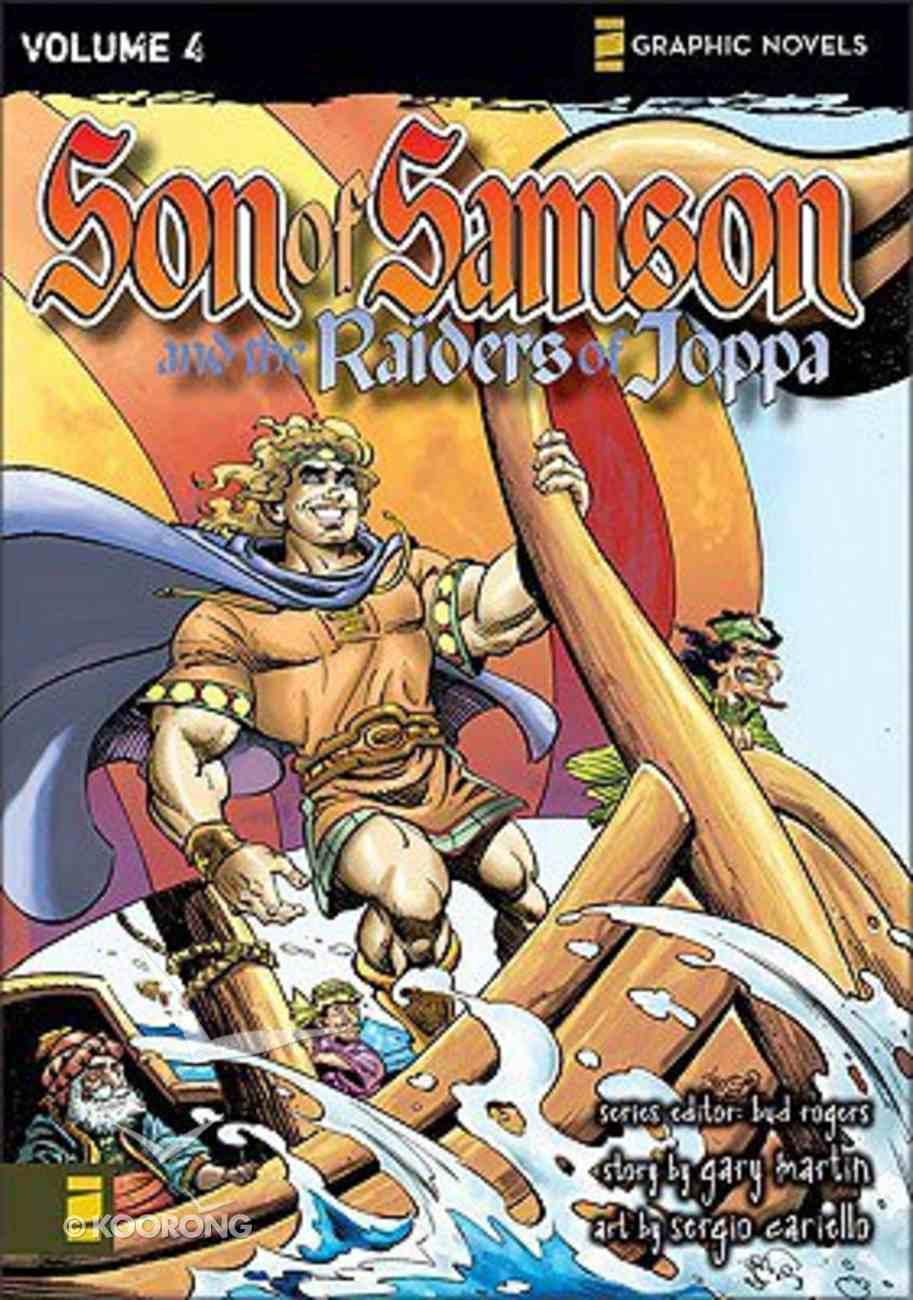 The Raiders of Joppa (Z Graphic Novel) (#04 in Son Of Samson Series) Paperback