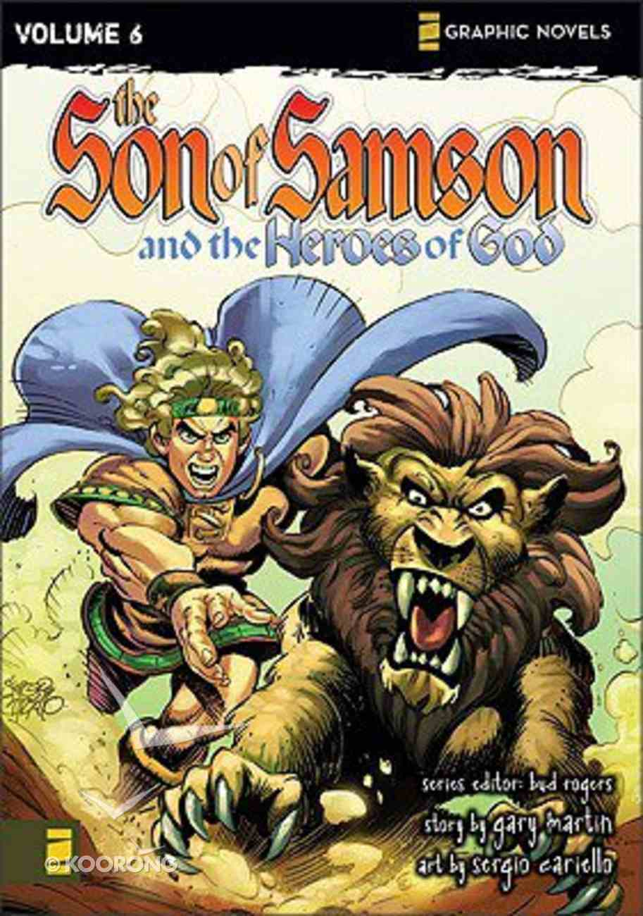 The Heroes of God (Z Graphic Novel) (#06 in Son Of Samson Series) Paperback