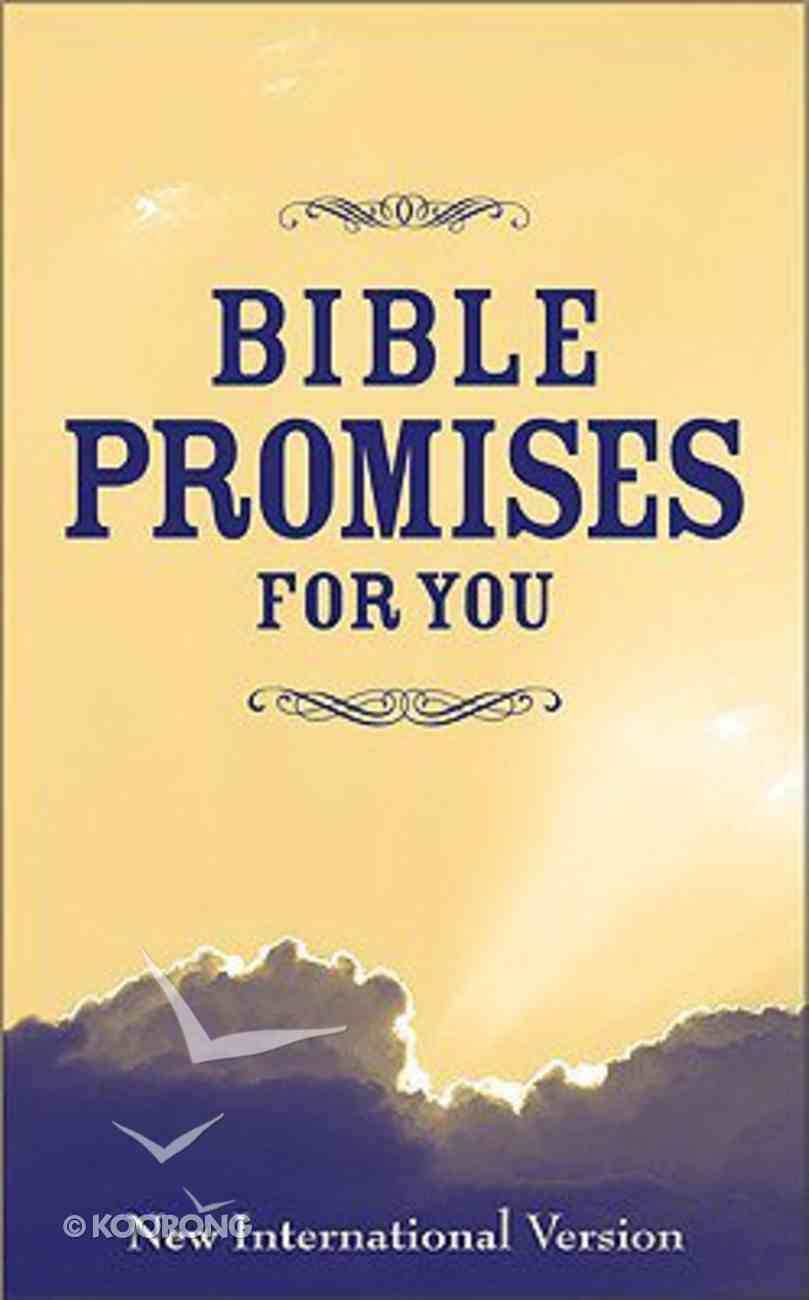 Bible Promises For You (Niv) Paperback