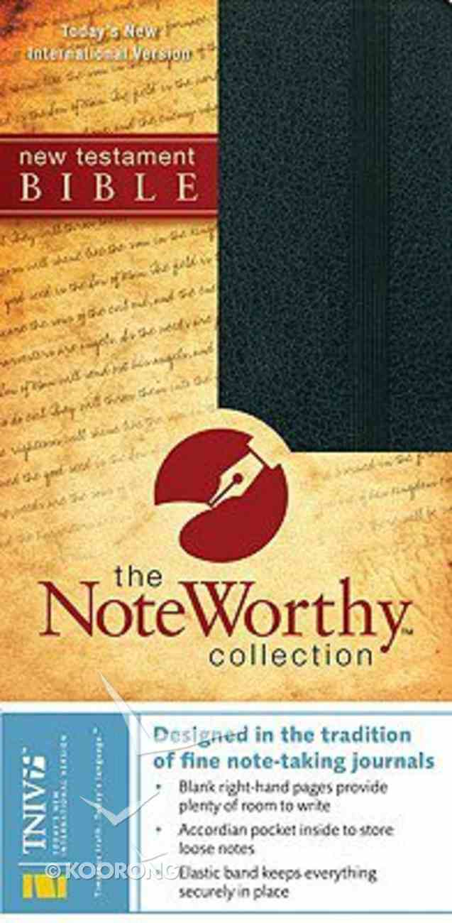 TNIV New Testament Black (Noteworthy Collection) Bonded Leather