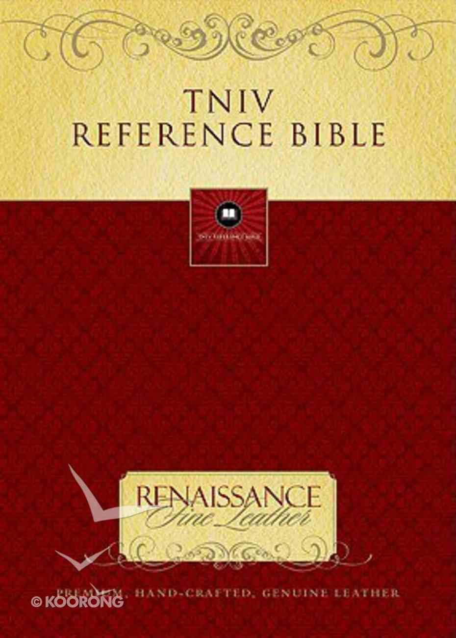 TNIV Reference Bible Black Genuine Leather