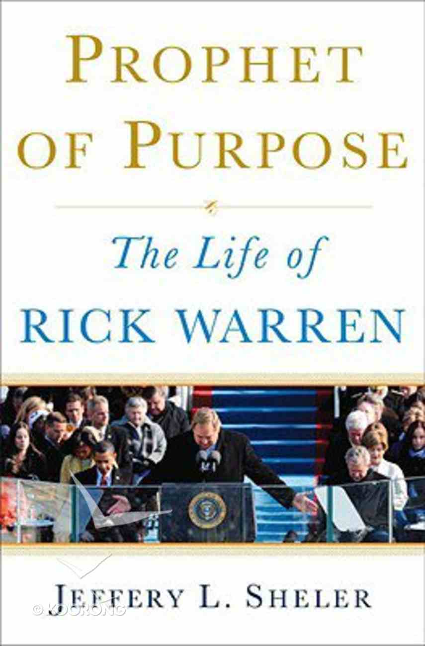 Prophet of Purpose Hardback