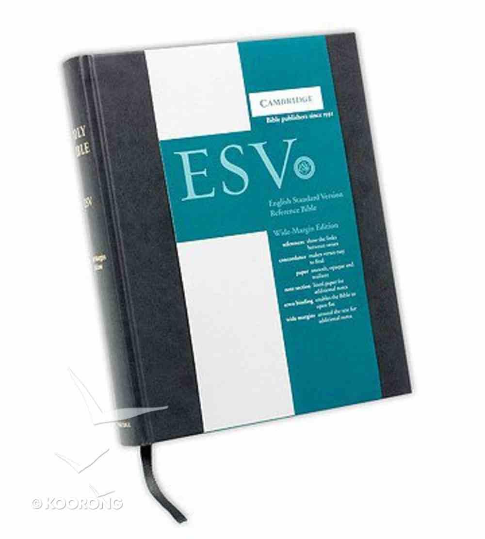 ESV Reference Bible Black Letter Hardback