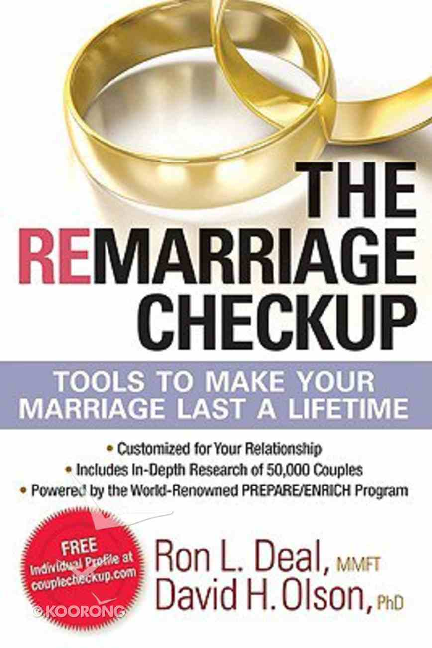The Remarriage Checkup Hardback