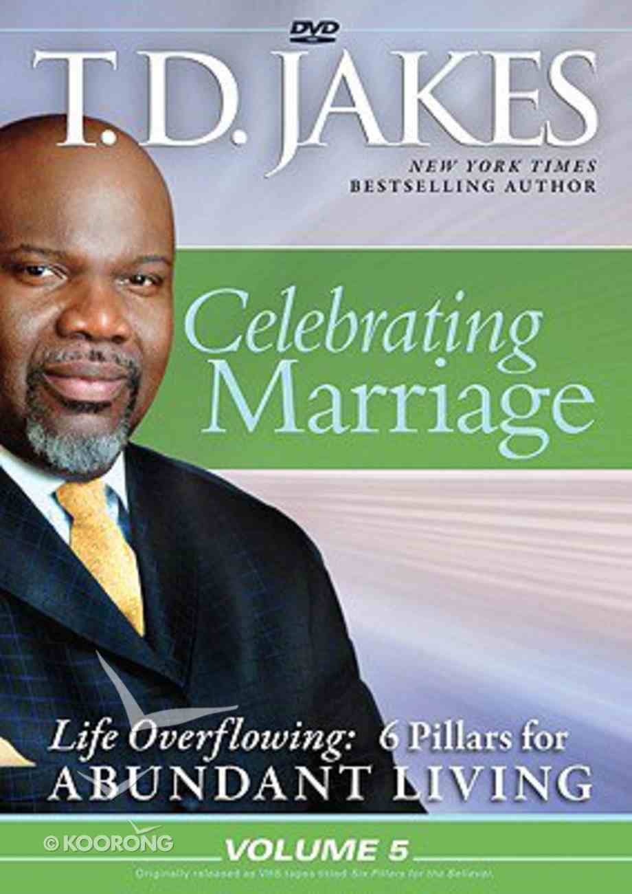 Celebrating Marriage (#05 in Life Overflowing Series) DVD