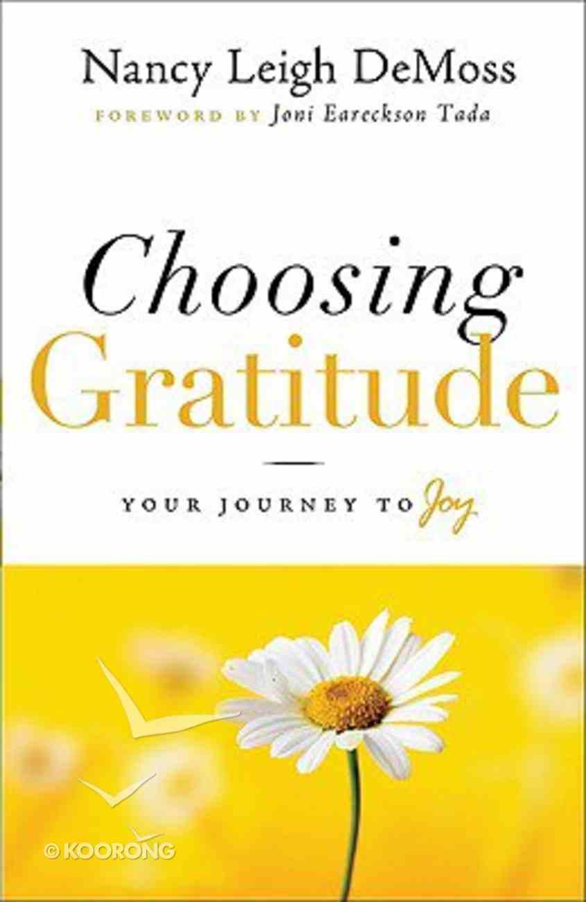 Choosing Gratitude Hardback