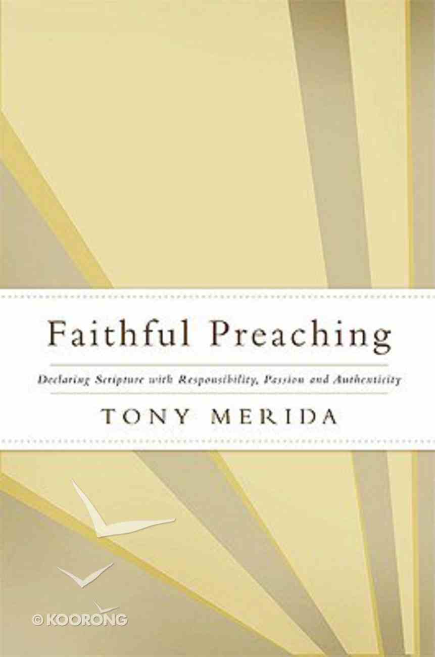 Faithful Preaching Paperback