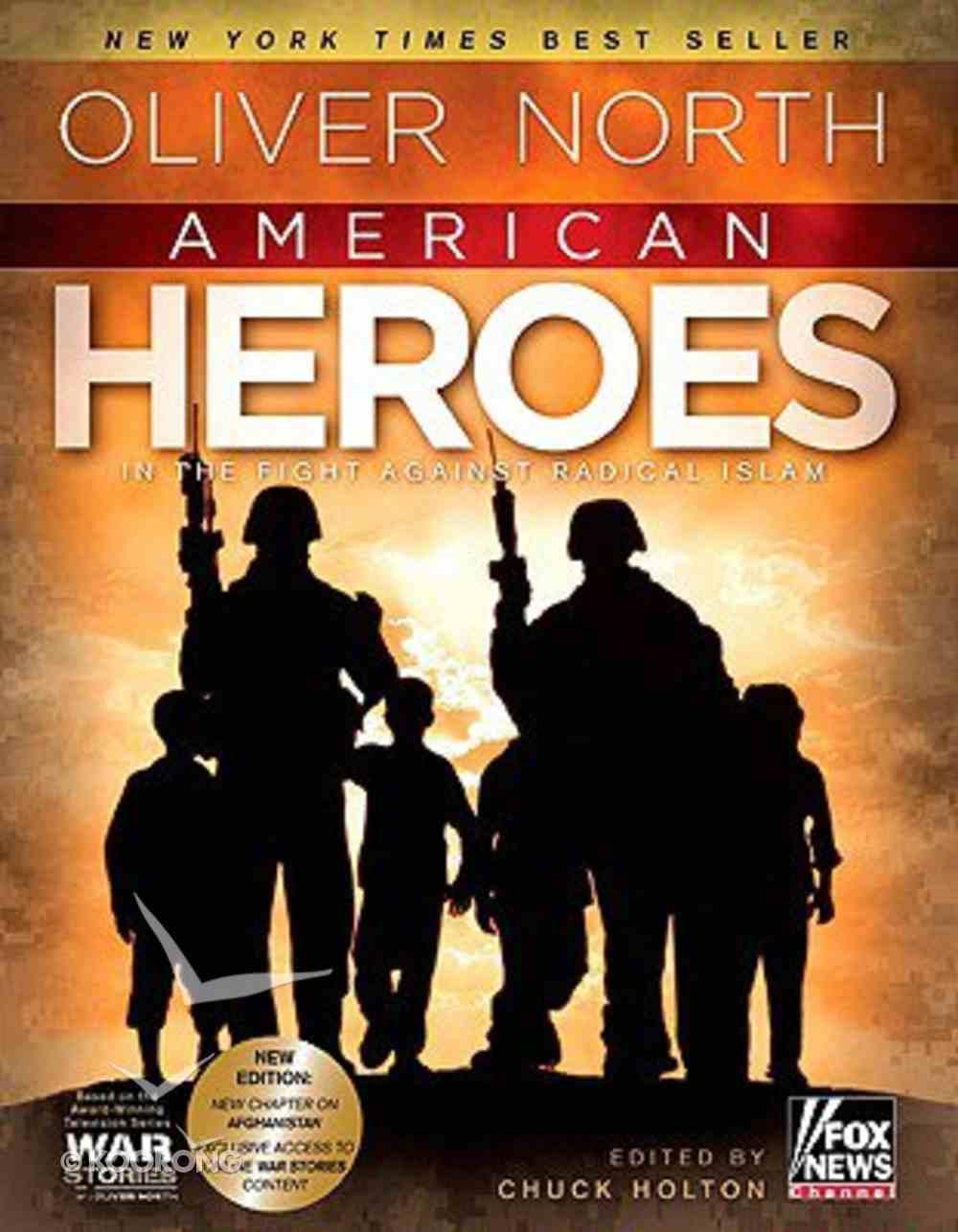 American Heroes (With Dvd) Hardback