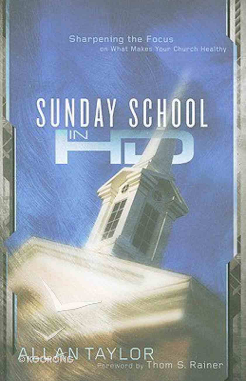 Sunday School in Hd (High Definition) Paperback