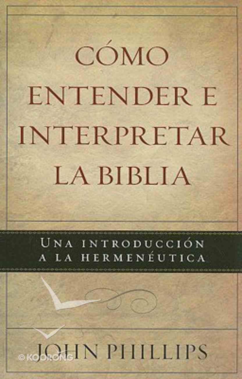 Manual Del Explorador De La Biblia (Bible Explorer's Guide) Paperback