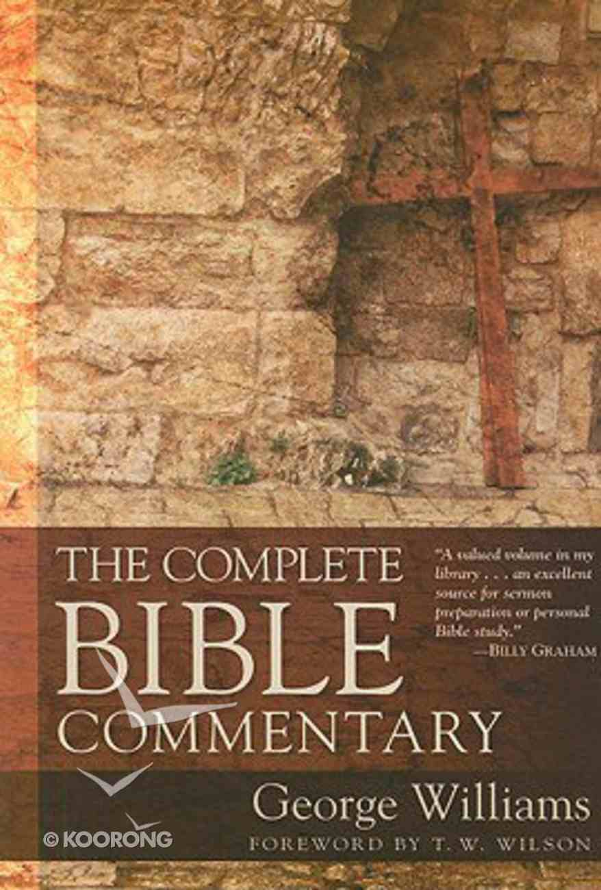 The Complete Bible Commentary Paperback