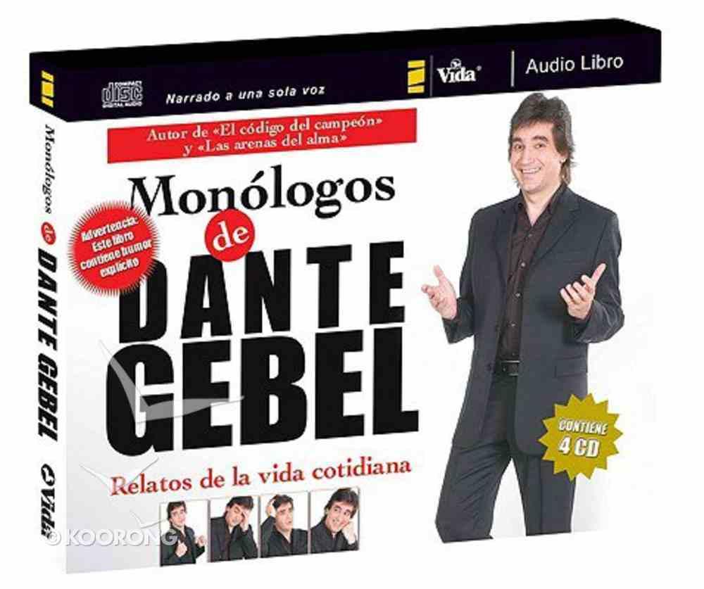 Monologos De Dante Gebel Audio Libro Monologues of Dante Gebel CD