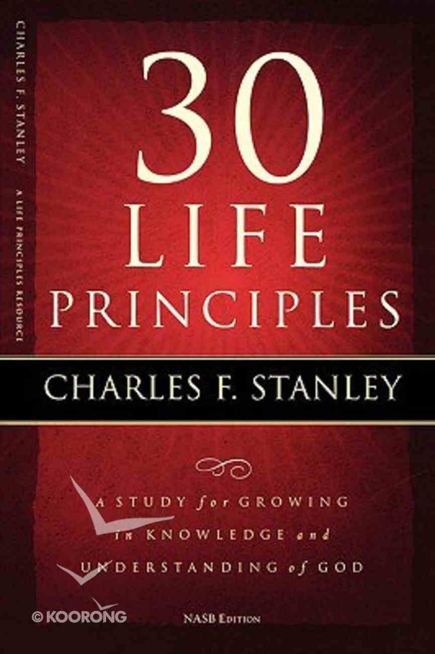 30 Life Principles Paperback