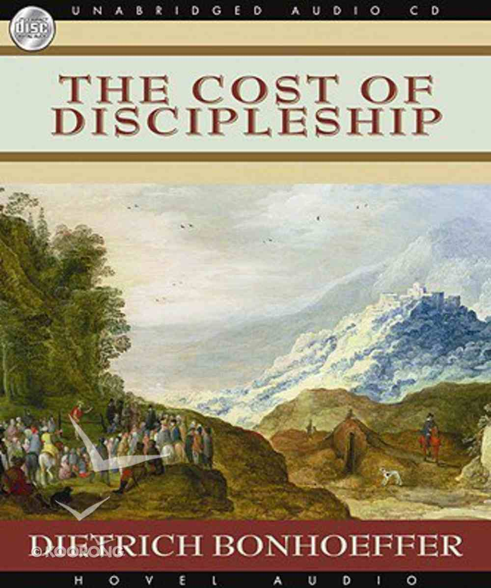 Cost of Discipleship, the MP3 (Unabridged) CD