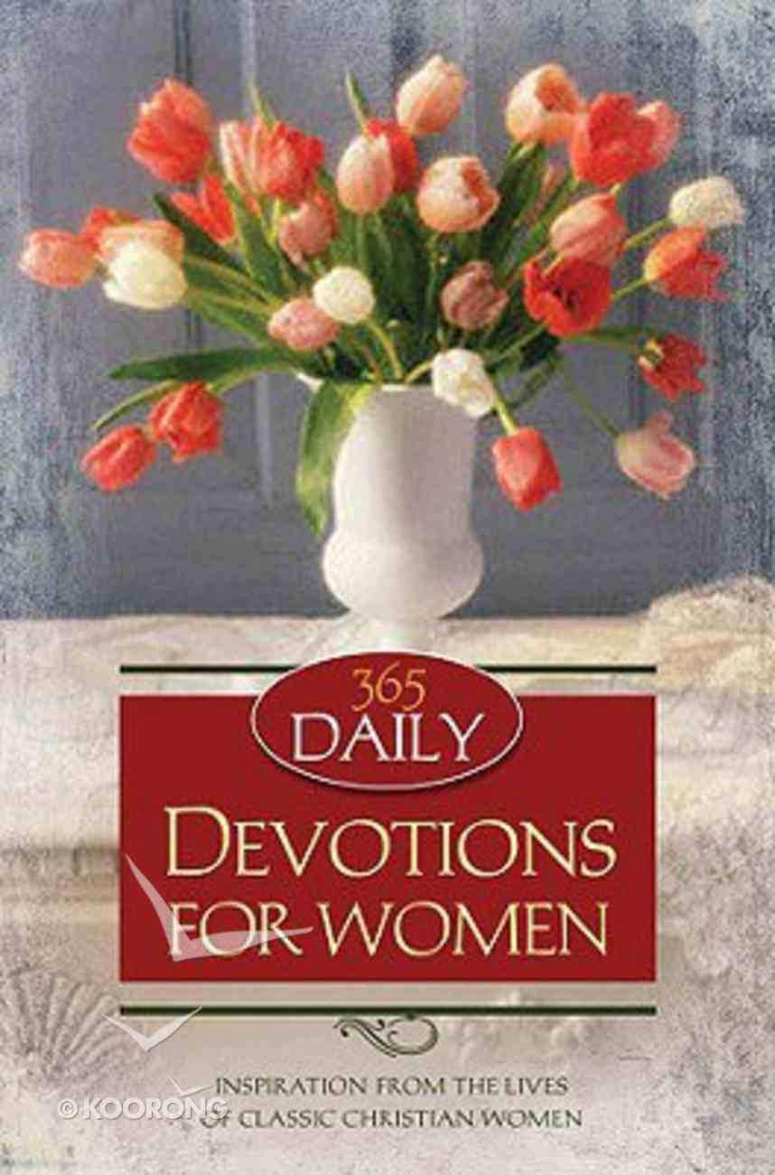 365 Daily Devotions For Women Paperback