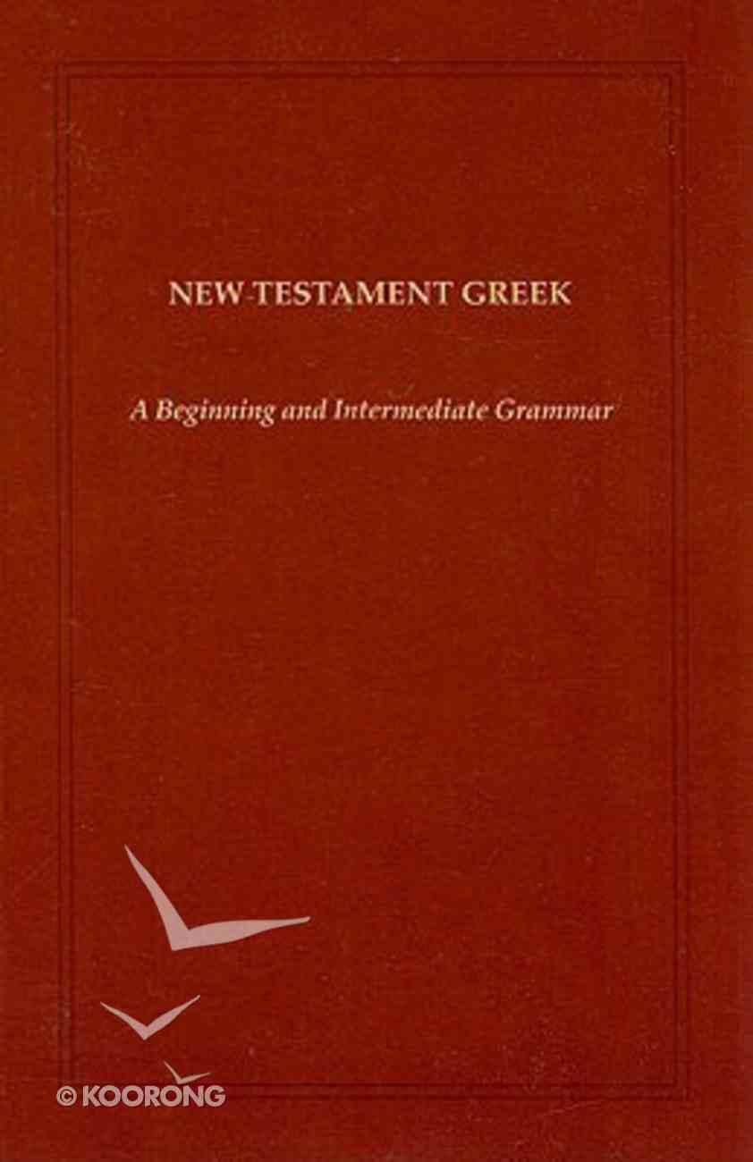 New Testament Greek Paperback