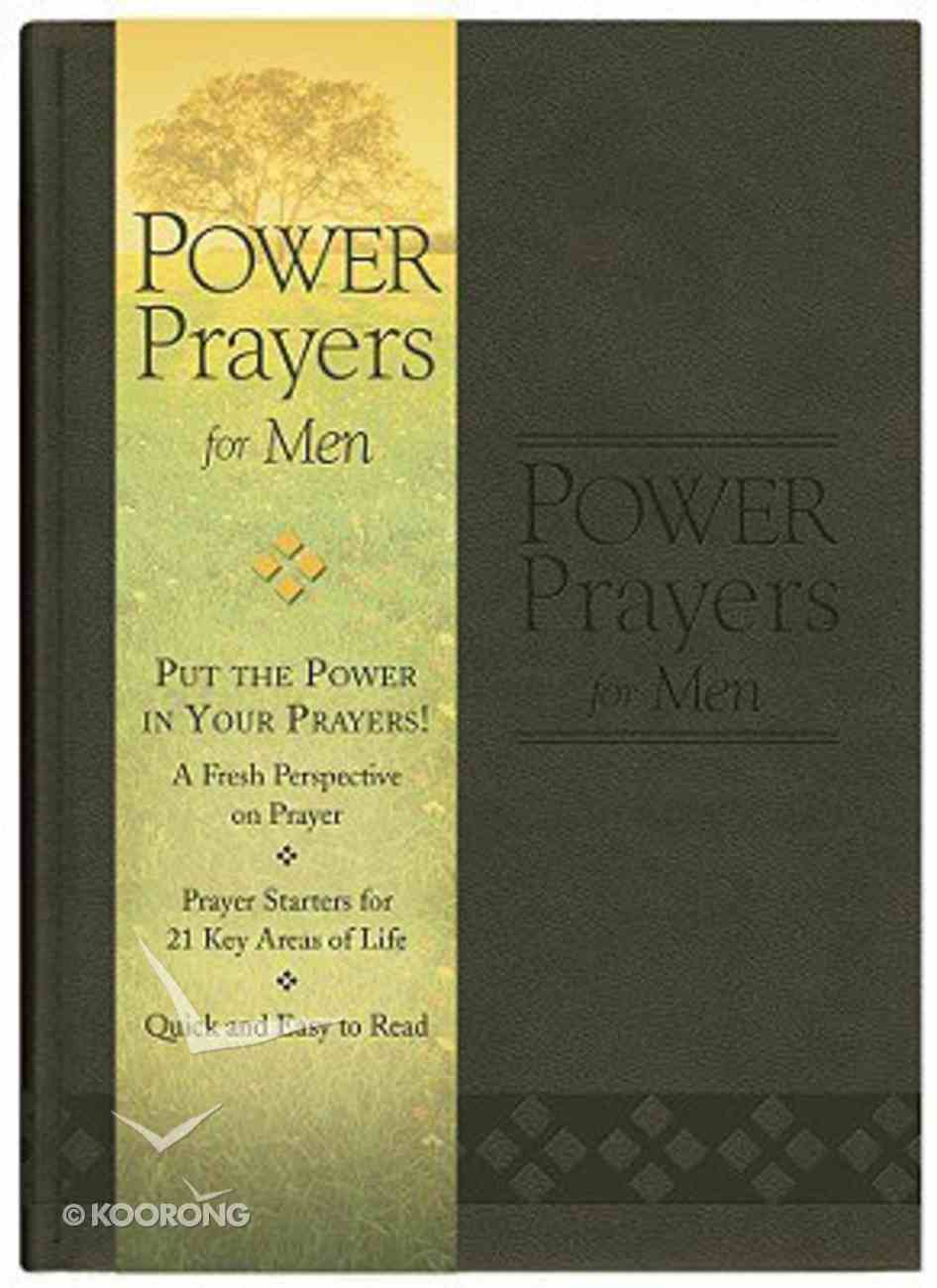 Power Prayers For Men (Gift Edition) Imitation Leather