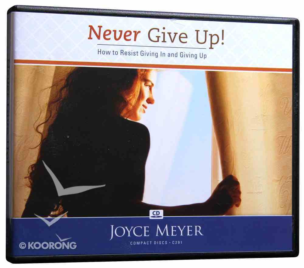 Never Give Up (4 Cds) CD