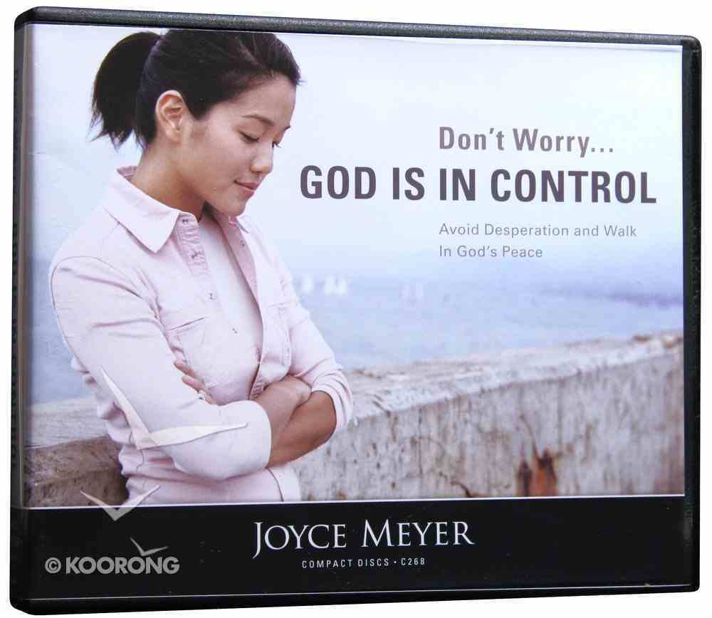 Don't Worry... God is in Control (4 Cds) CD