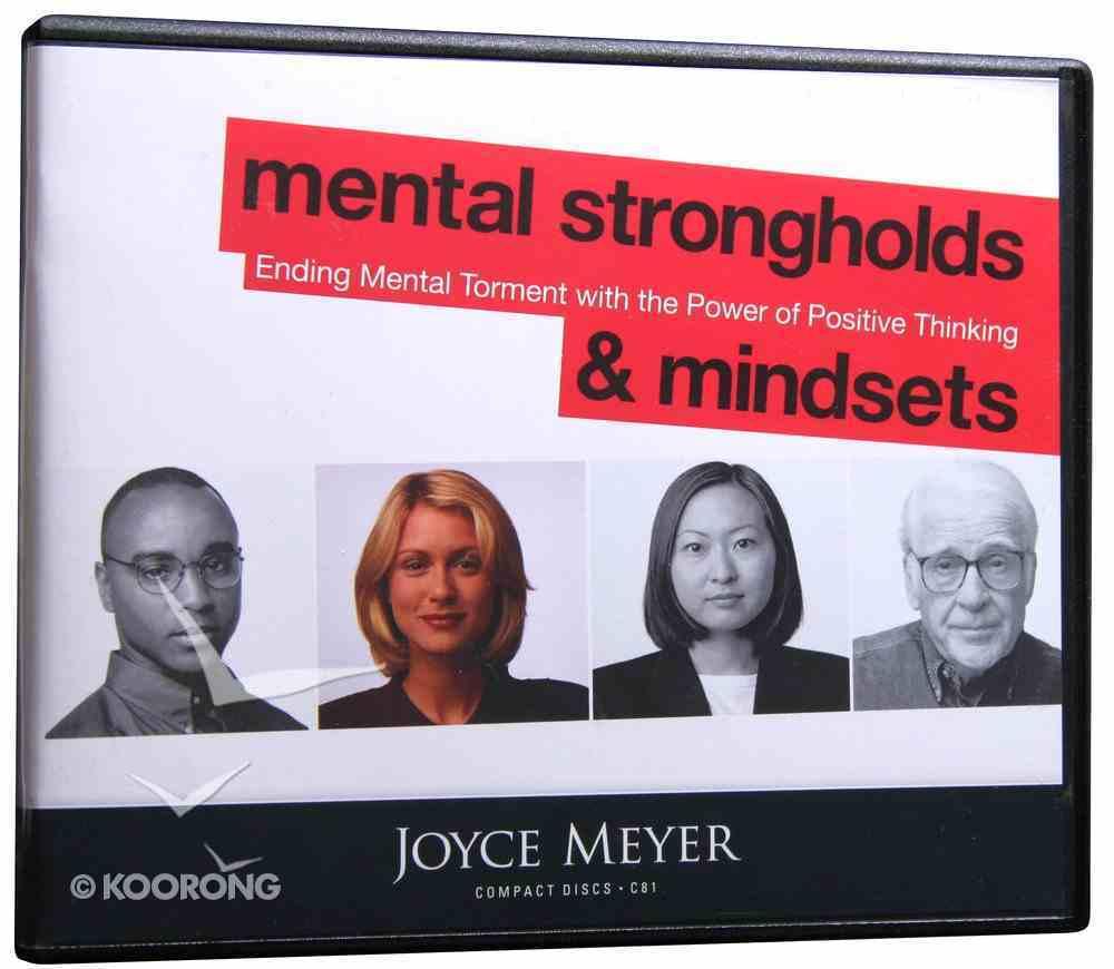 Mental Strongholds and Mindsets (4 Cds) CD