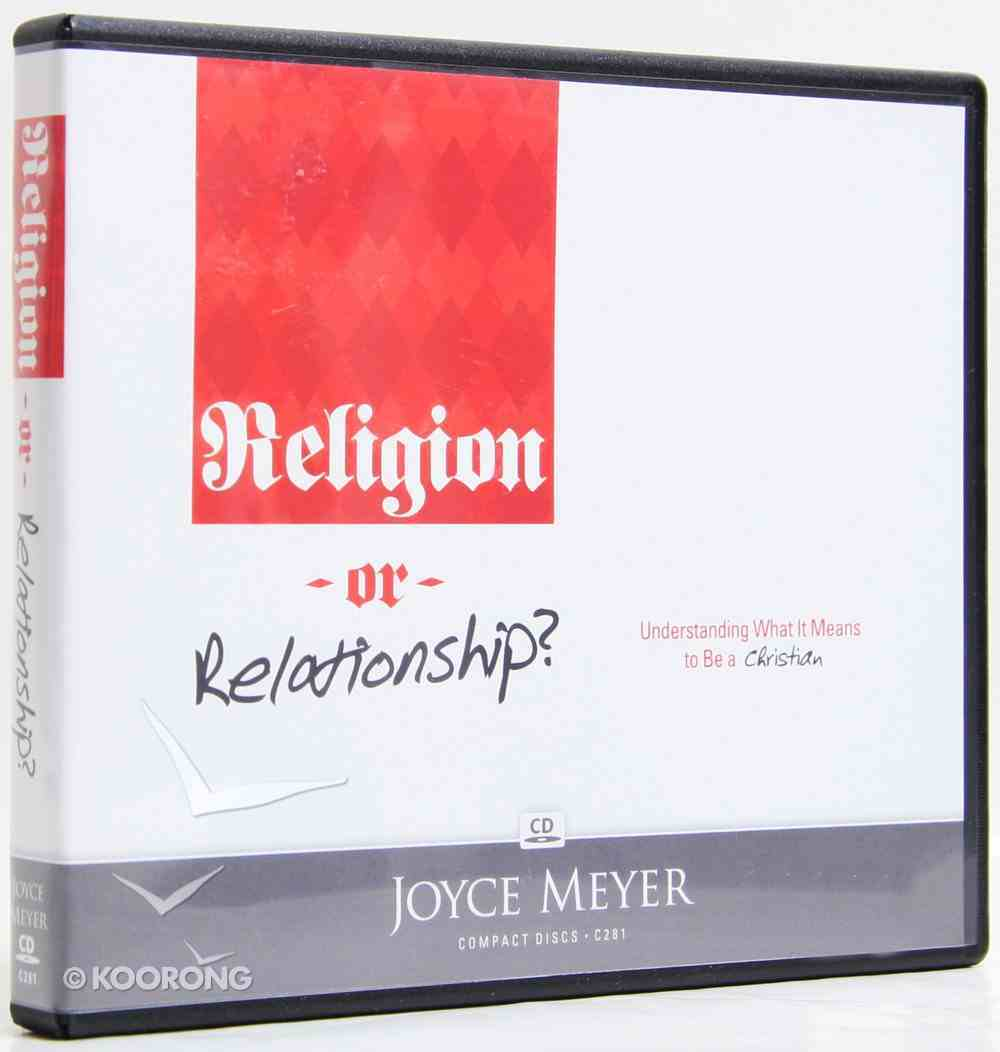 Religion Or Relationship? (4 Cds) CD