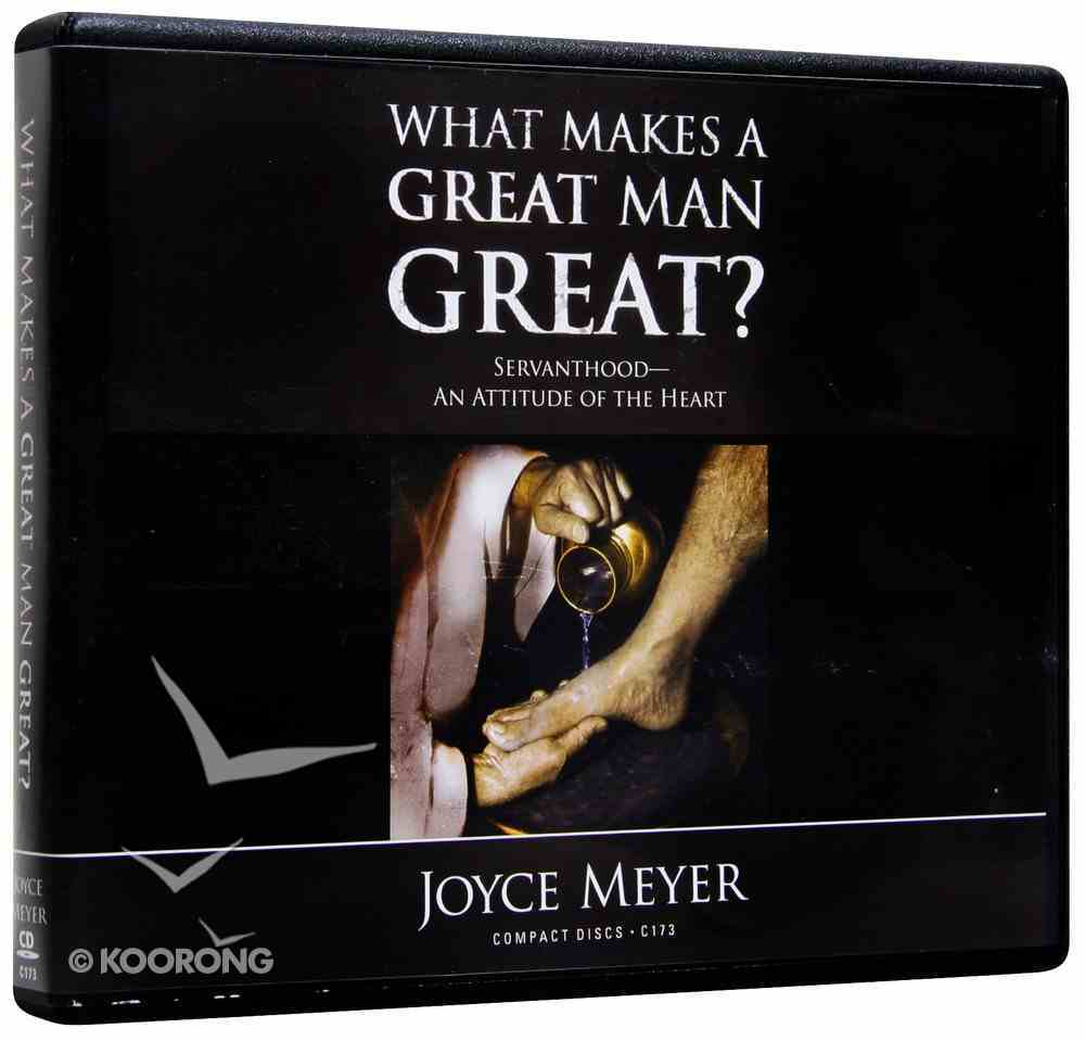 What Makes a Great Man Great? (5 Cds) CD