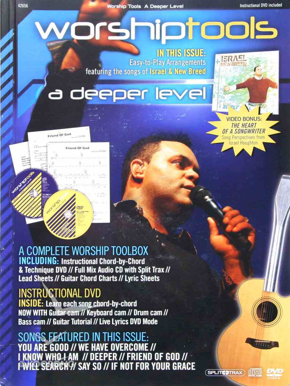 Worship Tools Guitar Edition Songbook With CD and DVD CD