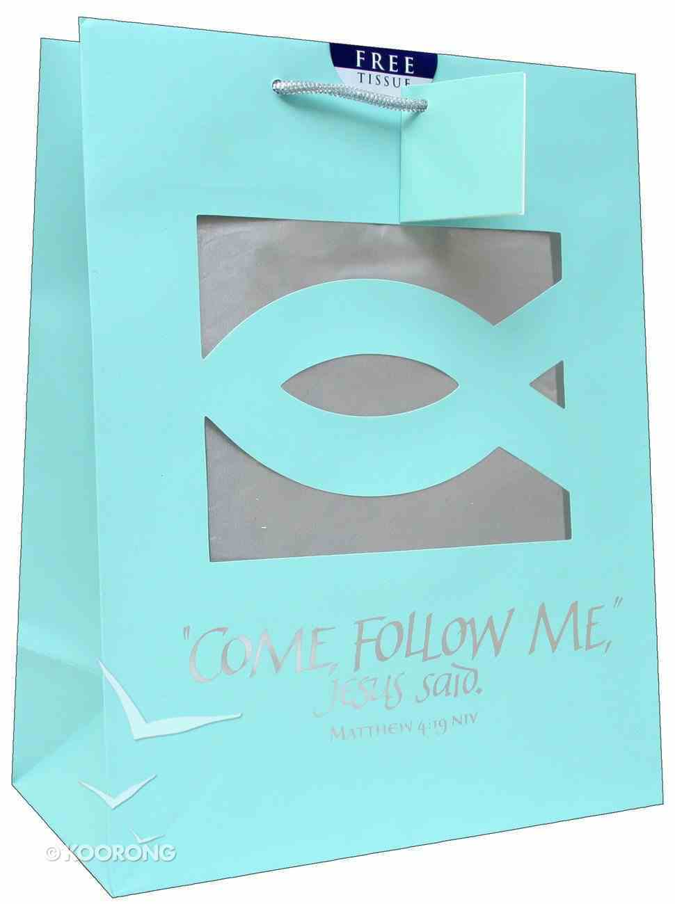 Gift Bag Large: Come Follow Me (Incl Tissue) Stationery