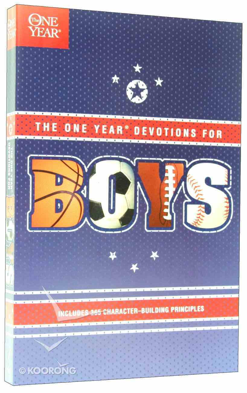 The One Year Devotions For Boys Paperback