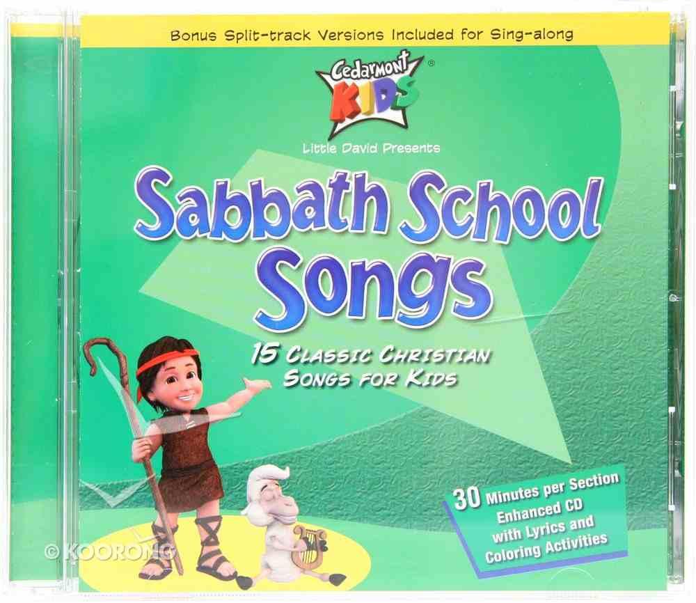 Cedarmont Kids: Sabbath School Songs (Kids Classics Series) CD