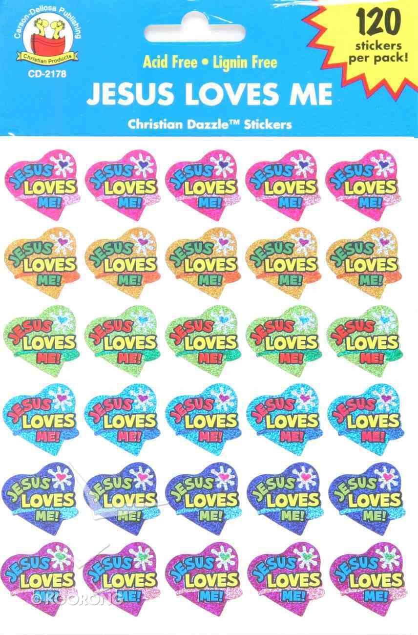 Sticker Pack: Jesus Loves Me Novelty