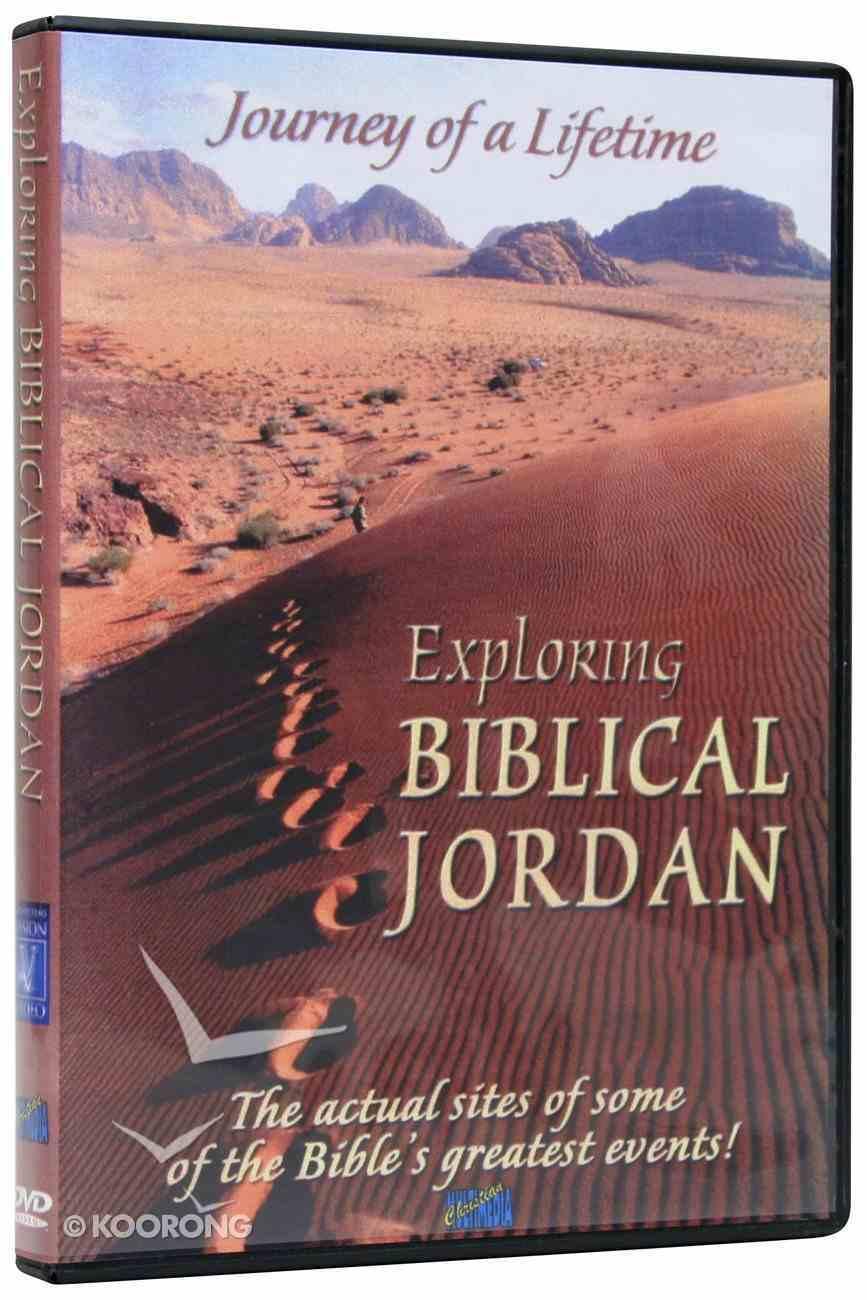 Exploring Biblical Jordan DVD