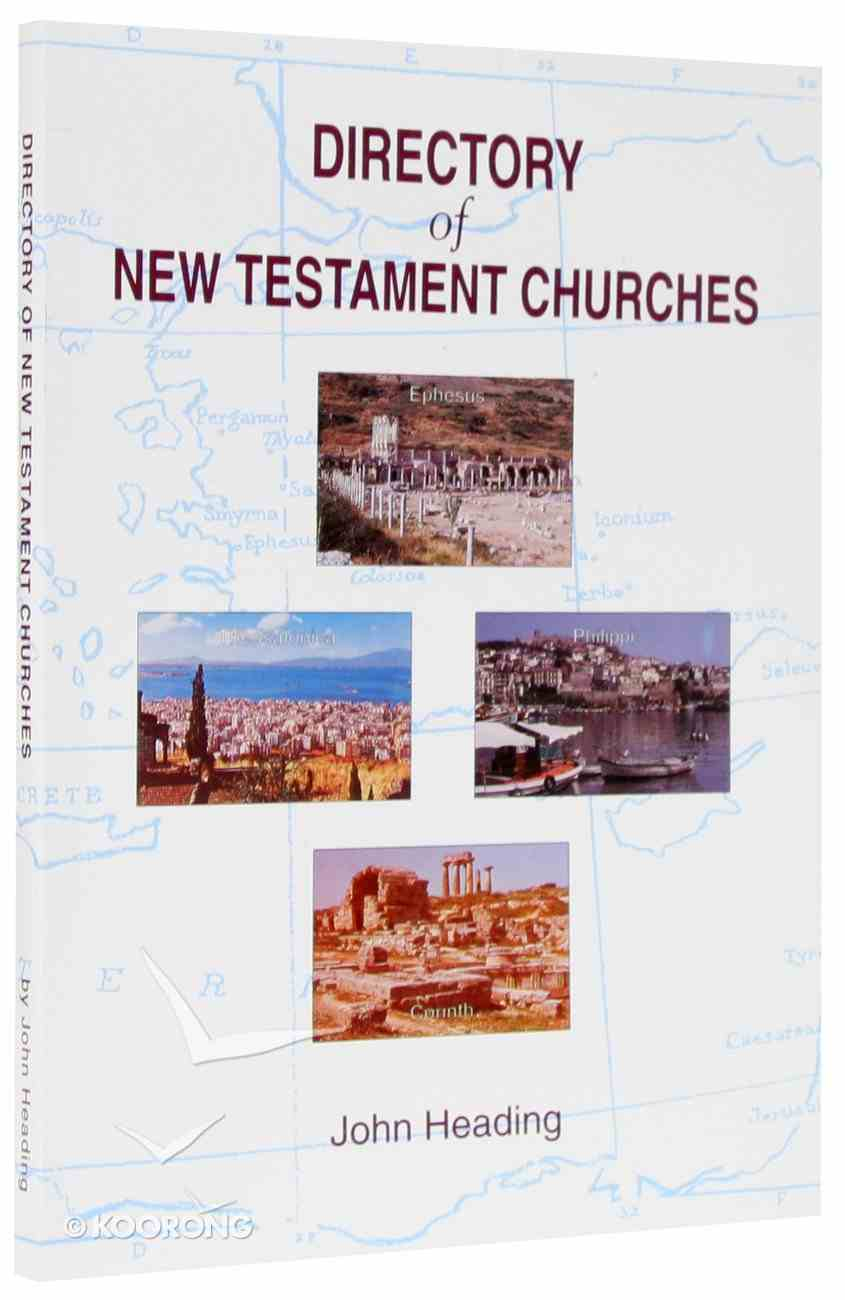 Directory of New Testament Churches Paperback