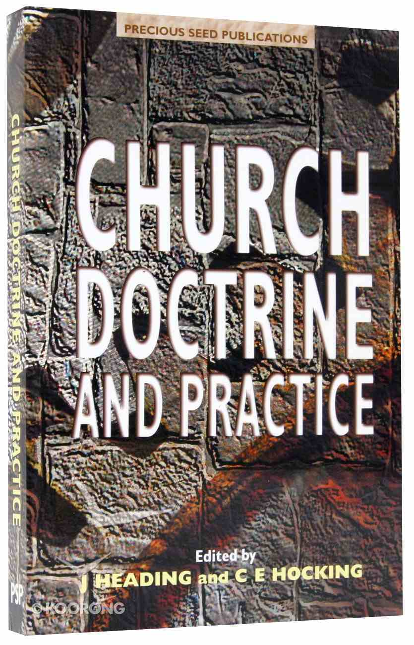 Church Doctrine and Practice Paperback