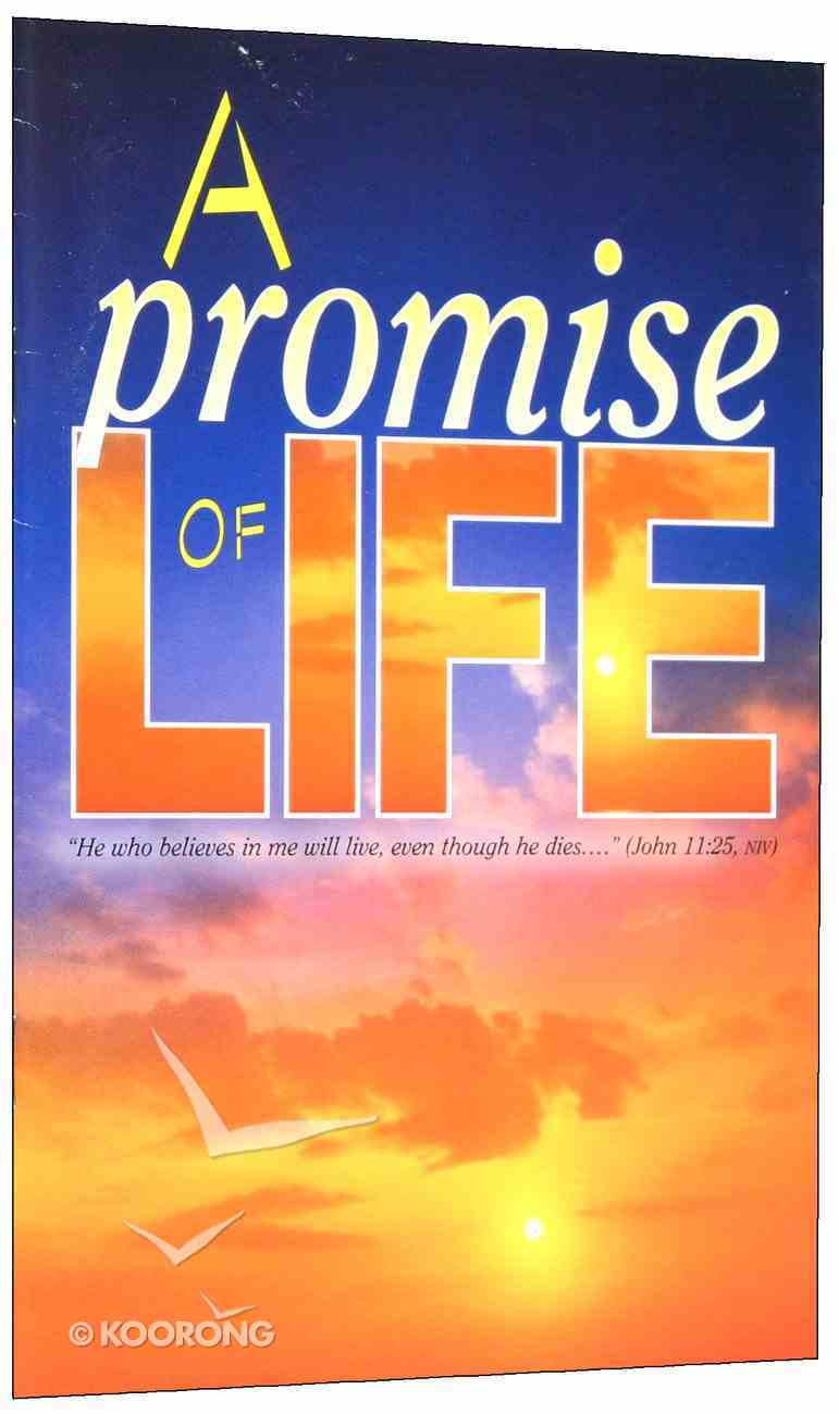 A Promise of Life (2003) (The Friendship Series) Booklet